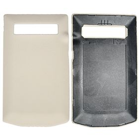 Picture of Porsche Design Premium Leather Battery Door Cover for BlackBerry P'9981 (Crema)