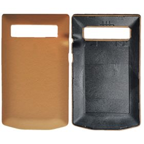 Picture of Porsche Design Premium Leather Battery Door Cover for BlackBerry P'9981 (Sand Beige)