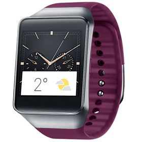 Picture of Samsung Gear Live SM-R382 Smart Watch 4GB (Wine Red)