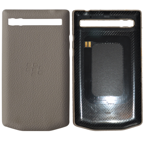 Picture of Porsche Design Leather Battery Door Cover for BlackBerry Pu00279983 (Paloma Grey ...  sc 1 st  KICKmobiles & Porsche Design Leather Battery Door Cover for BlackBerry Porsche ...