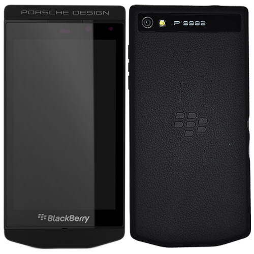 blackberry p 9982 porsche design black on