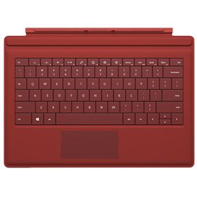 Picture of Microsoft Surface Pro 3 Type Cover (Red)