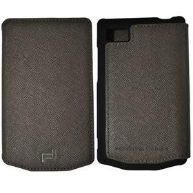 Picture of Porsche Design Leather Portfolio Case for BlackBerry P'9983 (Grey)