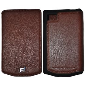 Picture of Porsche Design Leather Portfolio Case for BlackBerry P'9983 (Dark Brown)