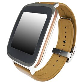 Picture of Asus ZenWatch WI500Q Leather Band Smart Watch (Brown)
