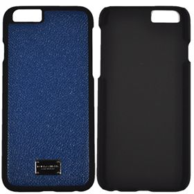 Picture of Dolce & Gabbana Dauphin Calfskin Leather Hard Case for Apple iPhone 6 (Bright Blue)