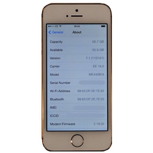 apple iphone 5s 64gb in 24ct gold with swarovski elements gold white kickmobiles. Black Bedroom Furniture Sets. Home Design Ideas