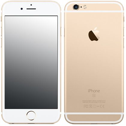 apple iphone 6s plus a1687 128gb gold colour kickmobiles. Black Bedroom Furniture Sets. Home Design Ideas