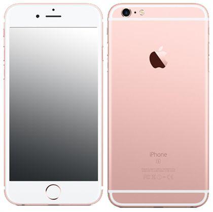 apple iphone 6s plus a1687 128gb rose gold kickmobiles. Black Bedroom Furniture Sets. Home Design Ideas