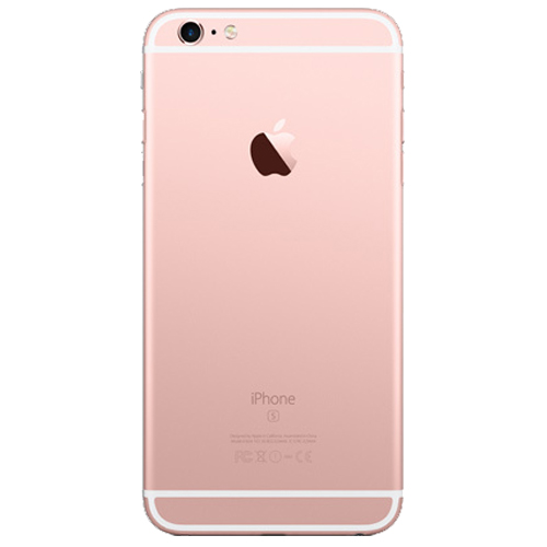 apple iphone 6s plus a1687 128gb rose gold kickmobiles. Black Bedroom Furniture Sets. Home Design Ideas