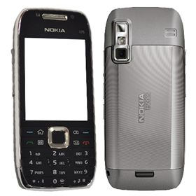 Picture of Nokia E75-1 QWERTY (Silver Black)