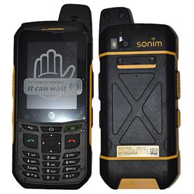 Picture of Sonim XP6 XP6700 8GB (Black/Yellow)