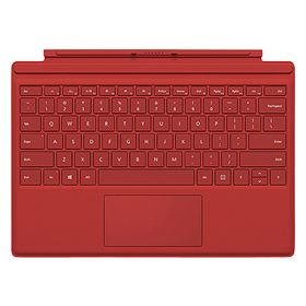 Picture of Microsoft Surface Pro 4 Type Cover (Red)