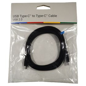 Picture of Google USB Type-C to Type-C Cable - USB 2.0 (Black)