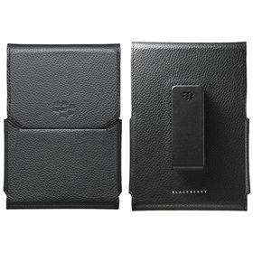 Picture of BlackBerry Leather Swivel Holster Case for BlackBerry Passport (Black)
