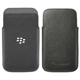 Picture of BlackBerry Leather Pocket Case for BlackBerry Classic (Black)