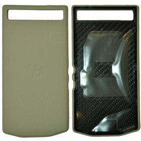 Picture of Porsche Design Premium Leather Battery Door Cover for BlackBerry P'9982 (Sand Shell)