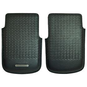 Picture of Porsche Design Premium Icon 2.0 Leather Case with PD Logo for BlackBerry P'9981 (Dark Blue)