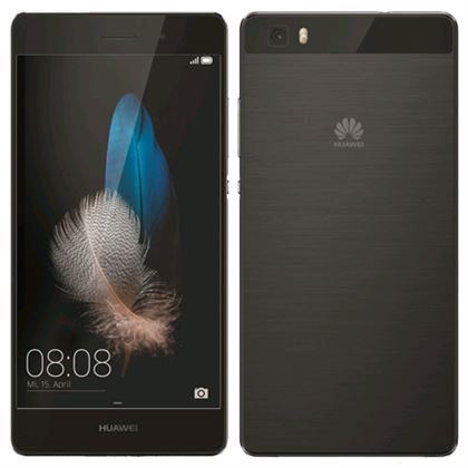 huawei p8 lite 2016 ale l21 16gb black kickmobiles. Black Bedroom Furniture Sets. Home Design Ideas