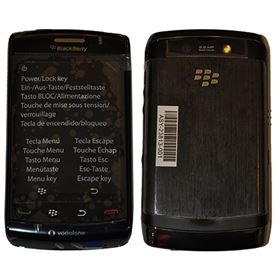 Picture of BlackBerry Storm 2 9520 2GB (Charcoal Black)