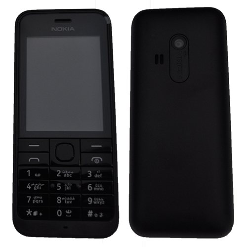 nokia keyboard phone. picture of microsoft nokia 220 rm-969 dual sim arabic keypad (black) keyboard phone