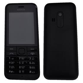 Picture of Microsoft Nokia 220 RM-969 Dual SIM Arabic Keypad (Black)