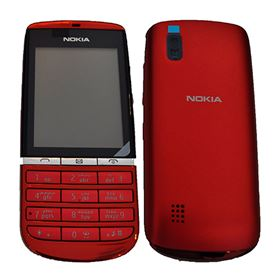 Picture of Nokia Asha 300 - Arabic + English Keypad (Red)
