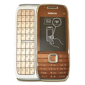Picture of Nokia E75-1 QWERTY (Topaz / Gold)