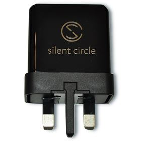 Picture of Silent Circle Power Adaptor Kit UK 3-pin Plug for Blackphone 2