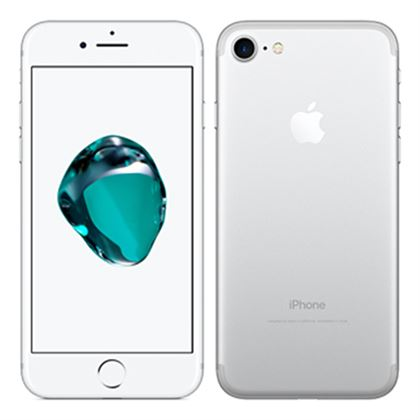 apple iphone 7 256gb silver kickmobiles. Black Bedroom Furniture Sets. Home Design Ideas