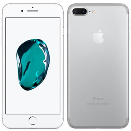 apple iphone 7 plus 128gb silver kickmobiles. Black Bedroom Furniture Sets. Home Design Ideas