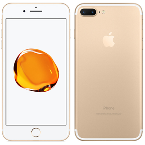 apple iphone 7 plus 128gb gold kickmobiles. Black Bedroom Furniture Sets. Home Design Ideas