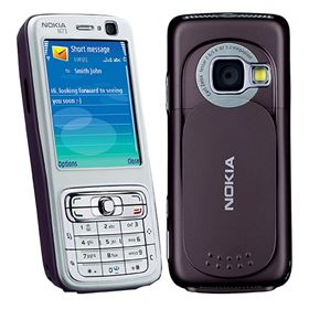 Picture of Nokia N73-1 RM-133 42MB (Silver Grey/Deep Plum)