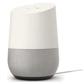 Picture of Google Home with Voice Activated Wireless Speaker (White)