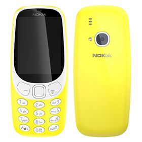 Picture of Nokia 3310 (2017) TA-1008 16MB (Yellow - Glossy)