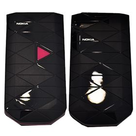 Picture of Nokia 7070 Prism (Black / Pink)