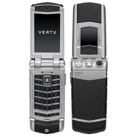 Picture of Vertu Constellation Ayxta (Steel, Aluminium & Black Leather)