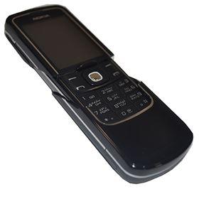 Picture of Nokia 8600 LUNA (English + Arabic Keypad) 128MB (Black)