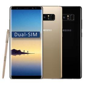 Picture of Samsung Galaxy Note8 Dual-SIM SM-N950FZKDBTU 64GB (Midnight Black | Maple Gold)