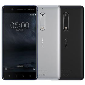 Picture of Nokia 5 Dual-SIM 16GB (Tempered Blue, Silver, Matte Black)