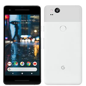 "Picture of Google Pixel 2 (2017) 64GB G011A, 5"" inch (Clearly White)"