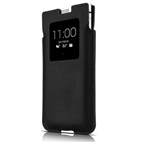 Picture of BlackBerry KEYone Smart Pocket Leather Case PKB100 (Black)
