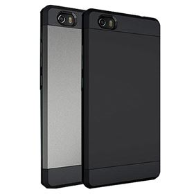 Picture of NUU Mobile Dual Layer Case for NUU Mobile M2 (Metallic Slate| Matte Black)