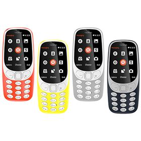Picture of Nokia 3310 (2017) Dual-SIM 16MB (Warm Red - Glossy | Yellow - Glossy | Grey- Matte | Dark Blue - Matte)