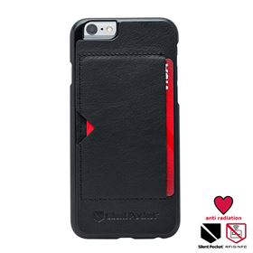 Picture of Silent Pocket Card holder Napa Leather Case with Anti-Radiation for iPhone 6/6s