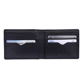 Picture of Silent Pocket BiFold Wallet Black Leather SPW-VBBL