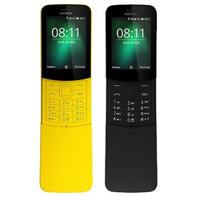 Picture of Nokia 8110 4G (2018) Dual-SIM 4GB [Black | Yellow]