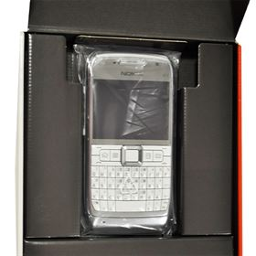 Picture of Nokia E71-1 110MB (White / Steel)