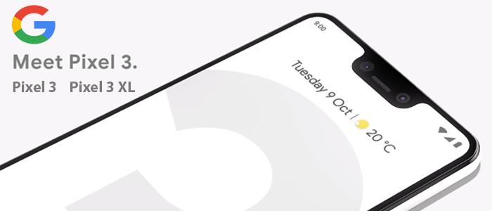 Google Pixel 3 and Pixel 3 XL Smartphone