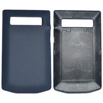 Picture of Porsche Design Premium Leather Battery Door Cover for BlackBerry P'9981 (Yachting Blue)